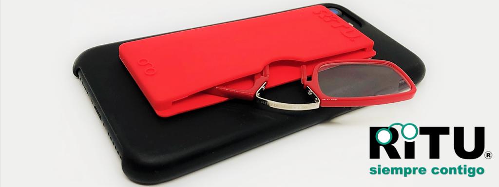 Nuevas RITU, gafas de lectura tipo Quevedo.